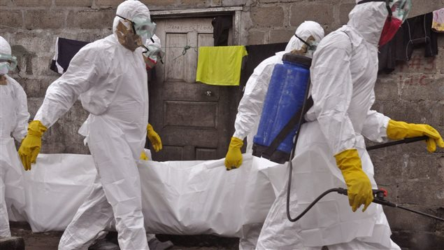 Stockage préventif de vaccins contre le virus Ebola en cas d'épidémie