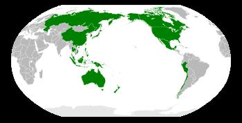 Pays membres de la Coopération Économique Asie Pacifique