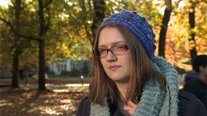 Anne Kessler, vice-présidente de l'Association des étudiants de l'Université de la Colombie-Britannique