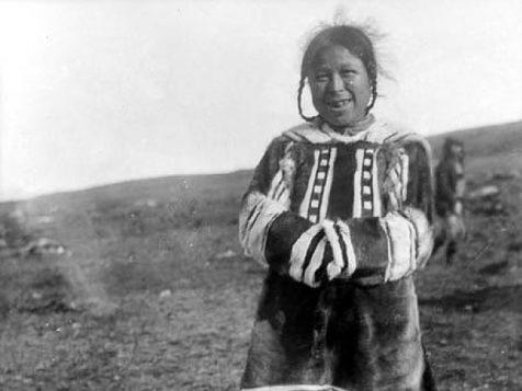 Parka inuit de l'île de Baffin, il y a 60 ans
