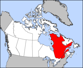 La province du Québec.