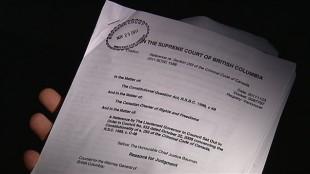 Décision de la Cour suprême de la Colombie-Britannique sur la constitutionnalité de la polygamie  Décision de la Cour suprême de la Colombie-Britannique sur la constitutionnalité de la polygamie