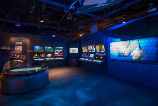 « Sea Monsters Revealed: The Exhibition », à l'Aquarium de Vancouver.