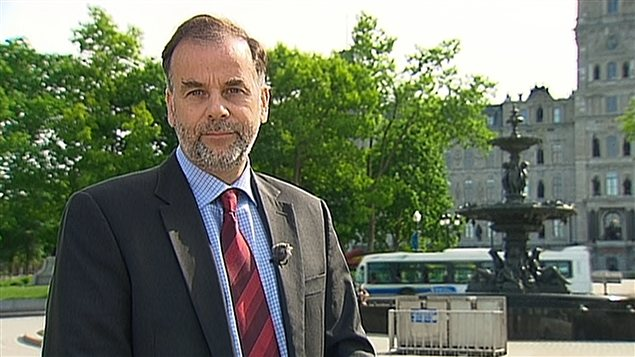 Pierre Duchesne  Photo: Radio-Canada