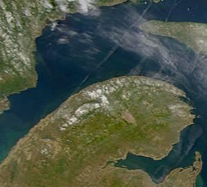 Péninsule de la Gaspésie au Québec.