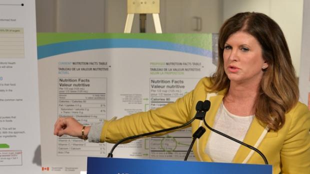 La ministre de la Santé Rona Ambrose. CBC