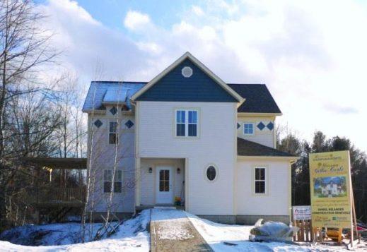 La maison Gilles-Carle à Cowansville au Québec
