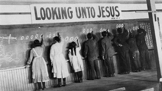 Un pensionnat autochtone à Red Deer en Alberta au début du 20e siècle - Archives de l'Église Unie du Canada