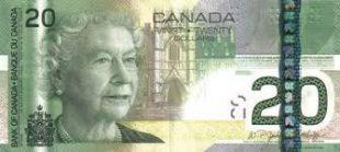Spéciment 20$ canadien (Monnaie royale du Canada)