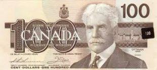 Spécimen, 100$ canadien (Monnaie royale du Canada)