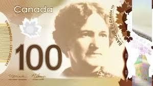 Proposition de billet de 100$, Nellie McClung (womenonbanknotes.ca)