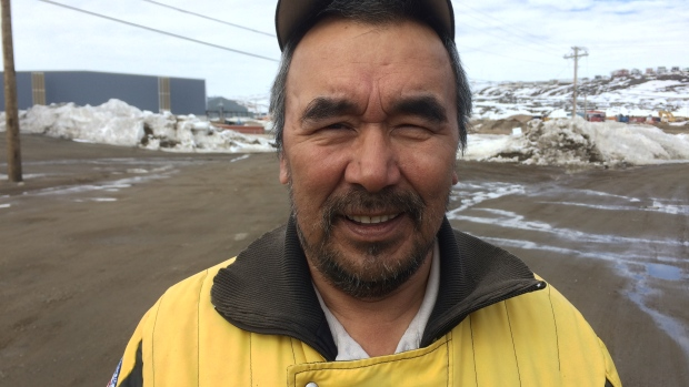 Solomon Nasook (photo: (John Van Dusen/CBC)