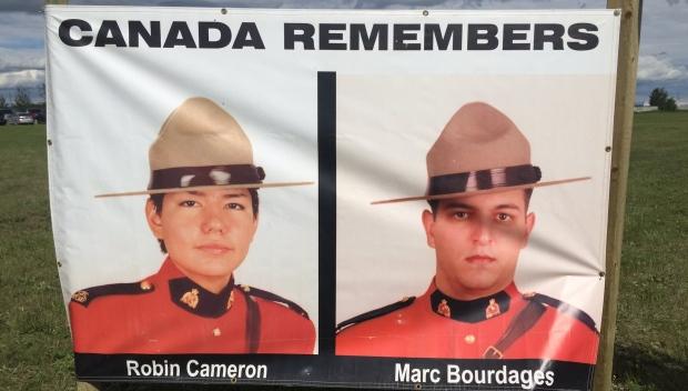 Les victimes Robin Cameron et Marc Bourdages (CBC)