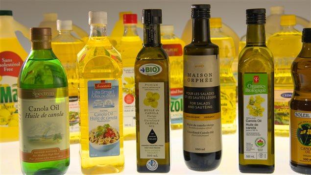 L'huile de canola, une huile végétale très prisée. © radio-Canada