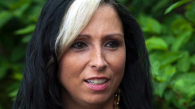 Me Pam Palmater, avocate d'origine mi'kmaw, est aussi auteur, professeur et spécialiste en affaires autochtones. (Andrew Vaughan/Presse canadienne)