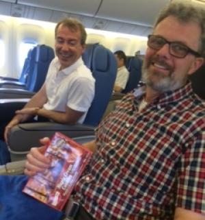 Libre, il s'envole pour le Japon. Photo : famille Garratt