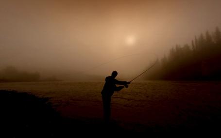Pêche au saumon dans la rivière Skeena en Colombie-Britannique   Skeena Conservation Fund