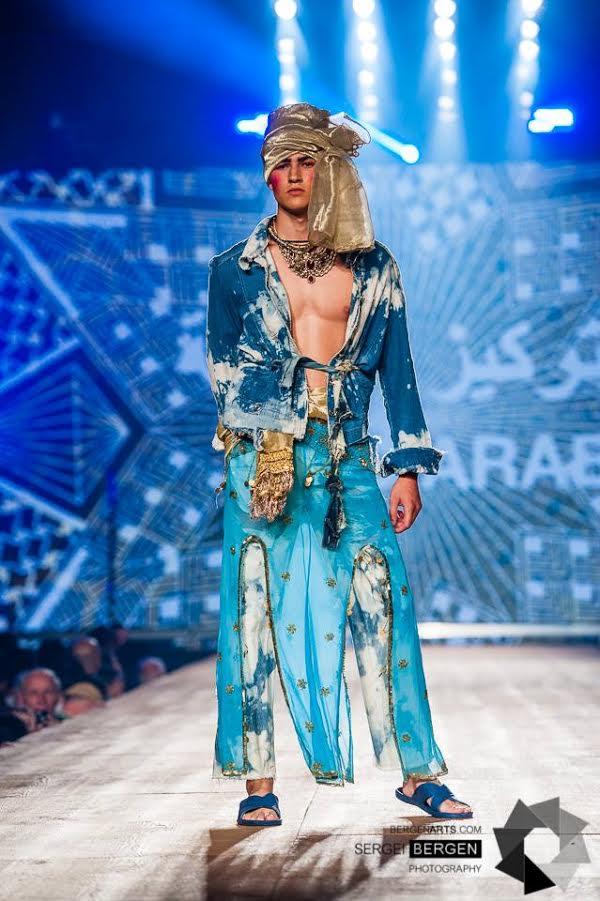 Mannequin:Shems. Agence Montage. Festival Mode et Design Août 2015.