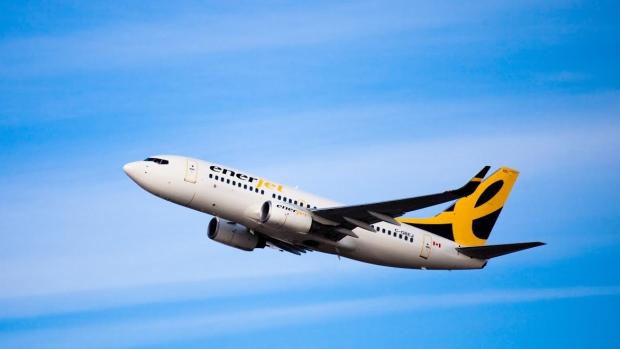 Canada Jetlines et Enerjet de Calgary rêvaient d'investir le marché des transporteurs à faibles coûts et demandaient des assouplissements aux règles en matière de propriété étrangère pour aller de l'avant. Photo CBC