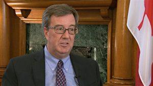 Jim Watson, maire d'Ottawa (Radio-Canada)