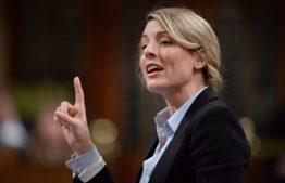 La ministre du Patrimoine canadien, Mélanie Joly Photo: Adrian Wyld La Presse canadienne