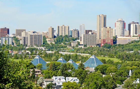 Edmonton, capitale de l'Alberta (iStock)