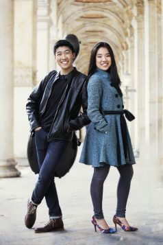 Silvie et Bryan Cheng (Photo Uwe Arens)