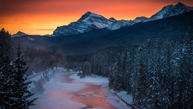 Parc national de Banff en Alberta Photo Credit: Joe Klamar/AFP/Getty Images