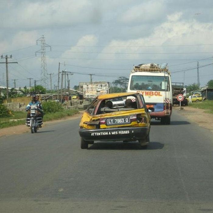 Un véhicule taxi au Cameroun - Camer.be
