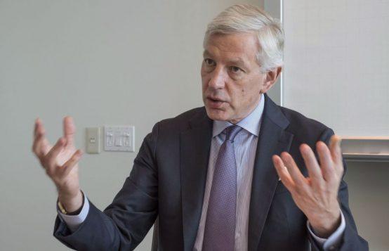Le président du Conseil consultatif sur la croissance économique du gouvernement fédéral, Dominic Barton