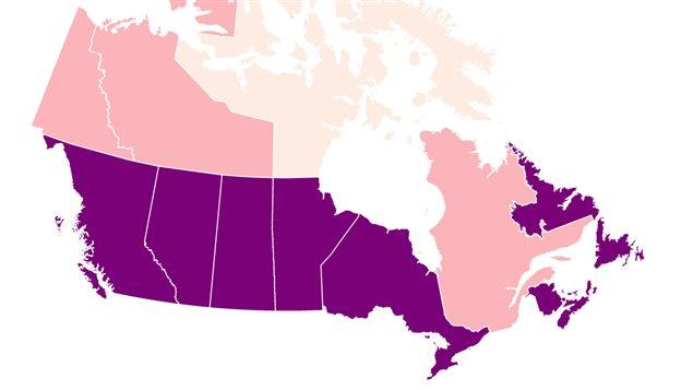 Les Québécois vivent davantage en union libre que les Canadiens des autres provinces.