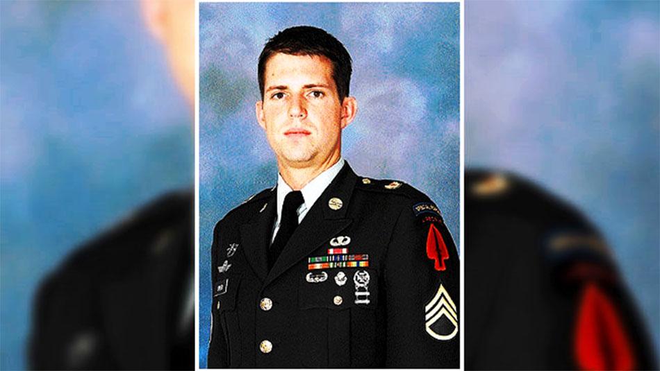 La victime, Christopher Speer - US army