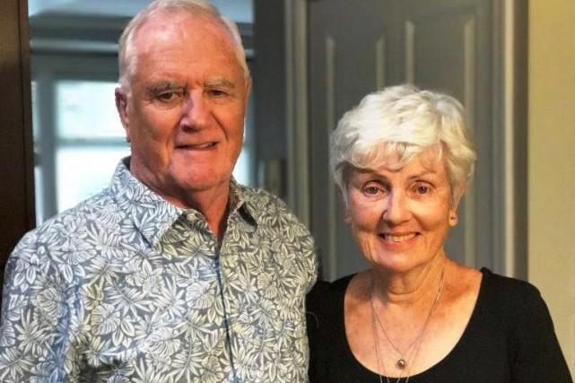 Ian Wilson a été tué à Barcelone. On le voit ici en compagnie de sa femme Valerie. Photo : La Presse canadienne