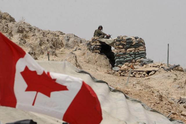Les derniers militaires canadiens ont quitté l'Afghanistan il y a près de trois ans et demi. PHOTO ARCHIVES AFP