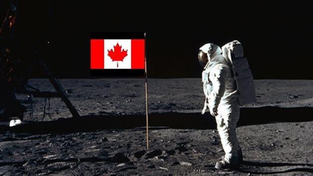 Le Canada pourrait marcher sur la lune d'ici 2030. Photo Credit: NASA-RCI