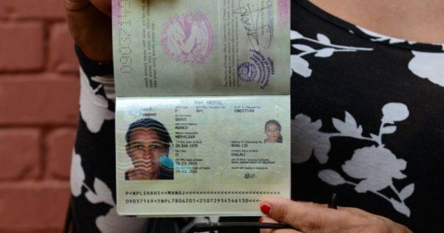 Le Népal délivre un premier passeport de genre «O» pour les minorités sexuelles AFP PHOTO/ Prakash MATHEMA