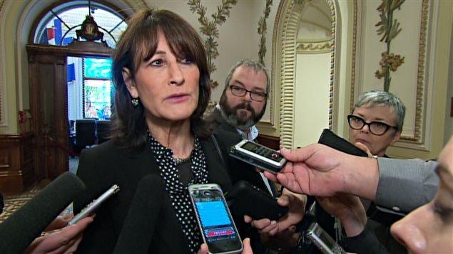 La ministre Kathleen Weil - Radio-Canada