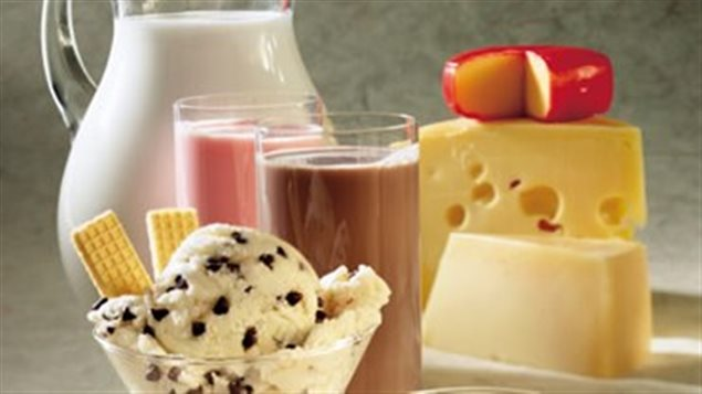 Produits laitiers canadiens Photo Credit: Radio-Canada