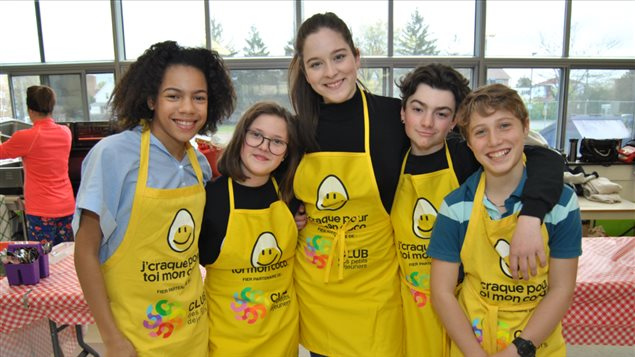 De jeunes ambassadeurs du Club des petits déjeuners Photo Credit: club des petits déjeuners.