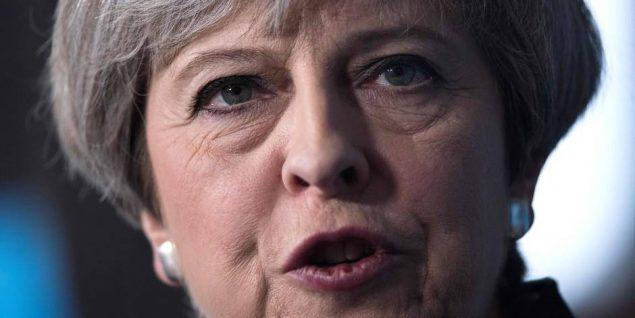 Theresa May - AFP