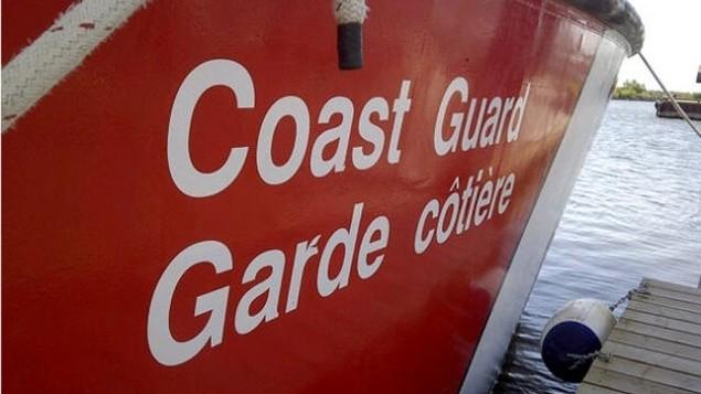 Un vaisseau de la Garde côtière canadienne Photo : Radio-Canada