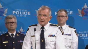 Le chef de la police d'Edmonton Rod Knecht Photo : Radio-Canada