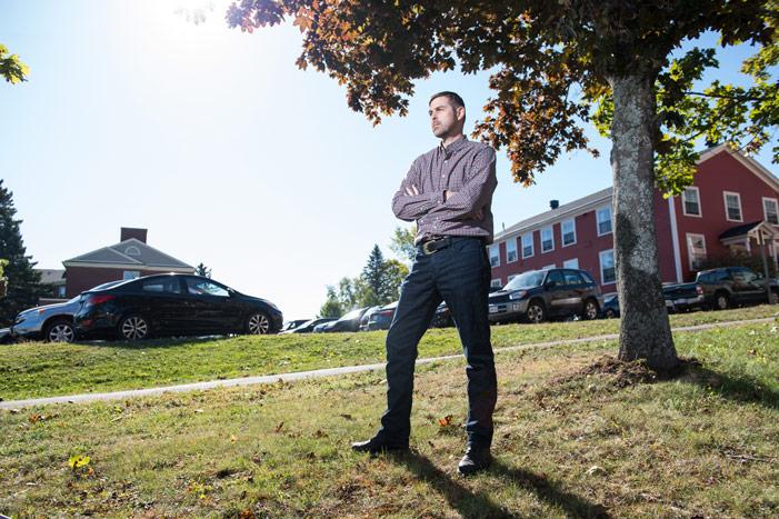 Dan Crouse de l'Université du Nouveau-Brunswick - UNB