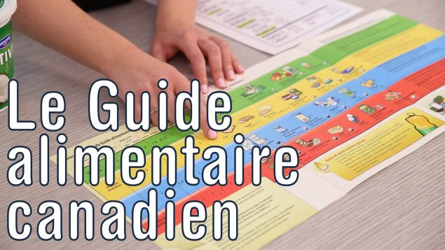 Le guide alimentaire canadien © Santé Canada