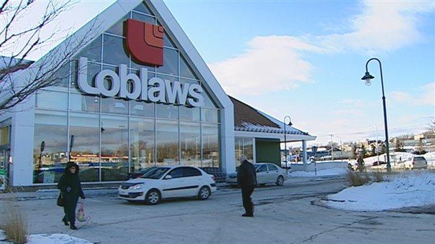 Une épicerie Loblaw