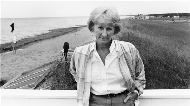 L'écrivaine acadienne Antonine Maillet en 1992.Photo Credit: ICI Radio-Canada/Guy Dubois