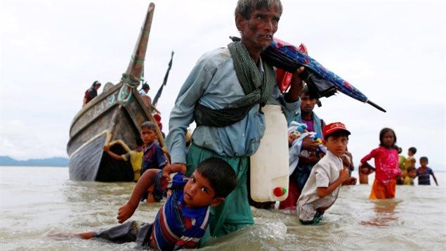 Le drame des Rohingyas continue de rebondir à la Une des médias de la planète de manière sporadique depuis quelques mois. Photo Credit: Danish Siddiqui/Reuters