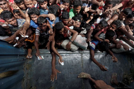 Les camps de réfugiés rohingya sont au bord de la catastrophe sanitaire. REUTERS/Cathal McNaughton
