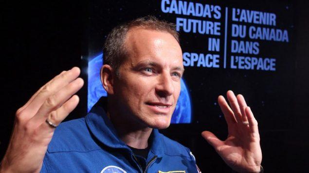L'astronaute québécois David Saint-Jacques. ARCHIVES LA PRESSE CANADIENNE, FRED CHARTRAND