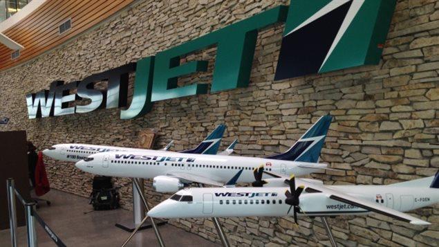 Des modèles d'avions de WestJet © Kyle Bakx